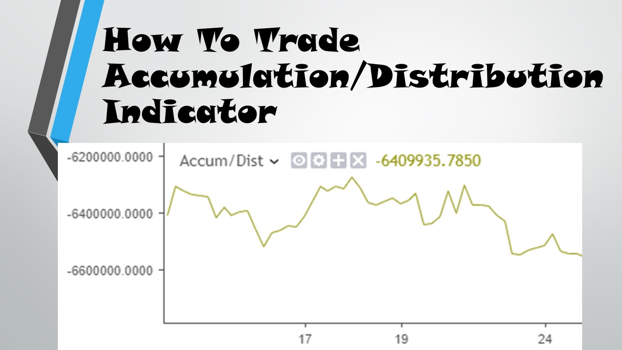 How to Trade Accumulation Distribution Indicator
