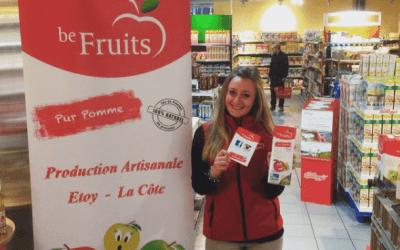 Les dégustations de Be Fruits