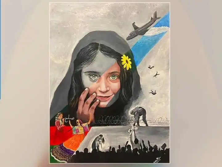 An Afghan woman paints a frightening picture of the fall of her country