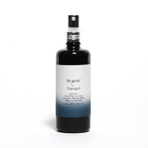 BE GENKI 100% organic tranquil body oil