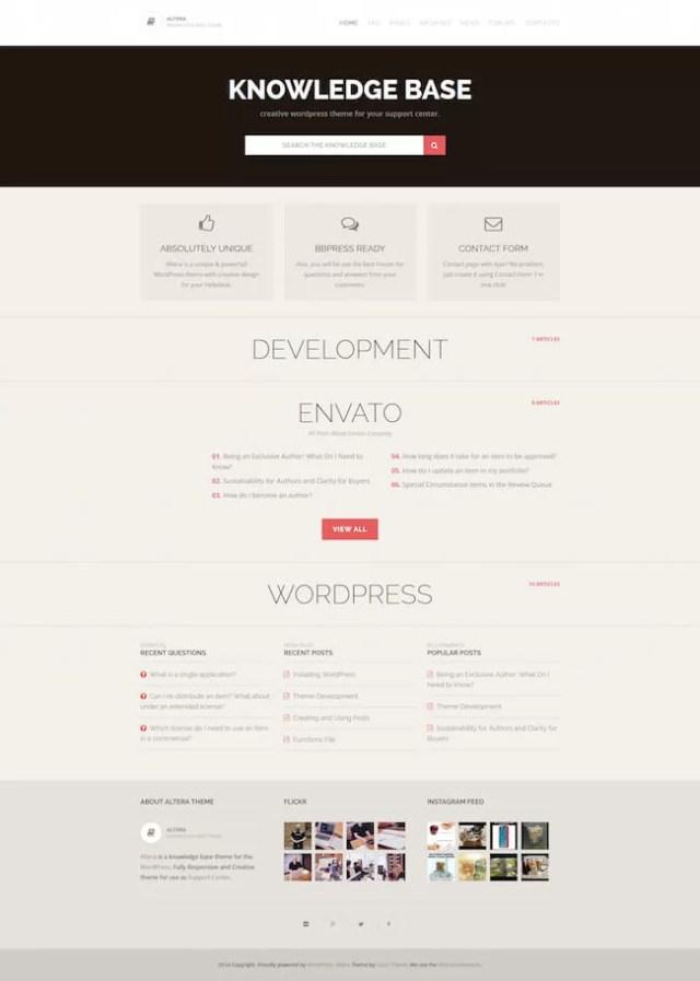 Altera WordPress Theme
