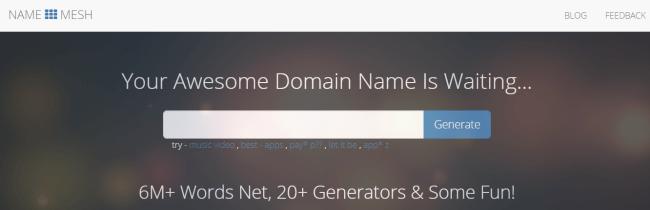 NameMesh, бизнес по изменению доменов