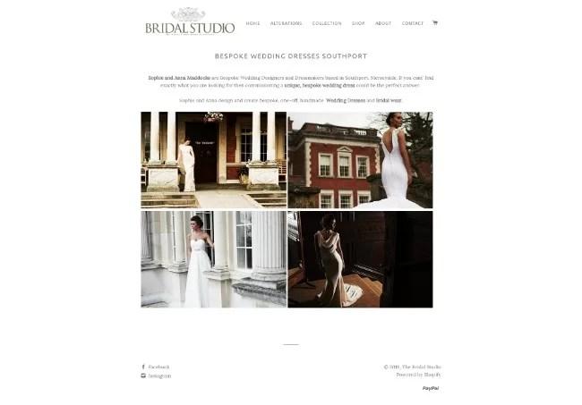 bridal studios