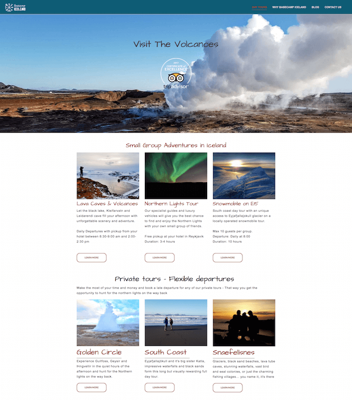 Weebly Site examples