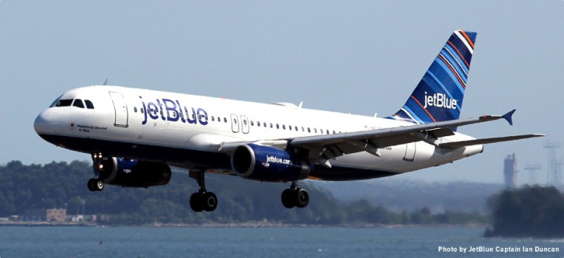 USA's Top 10 Airlines 2016 jetblue