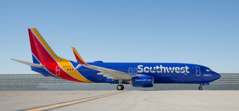 USA's Top 10 Airlines 2016 southwest