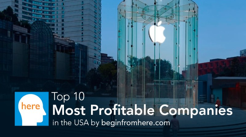 top 10 profitable companies in USA