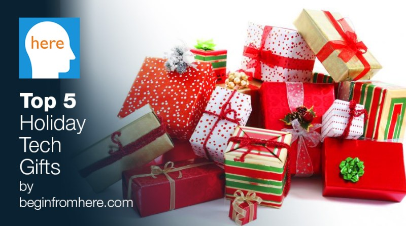 top 5 Holiday Tech Gifts