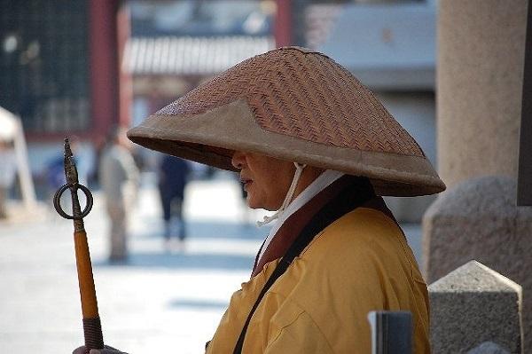 Ascetic monk