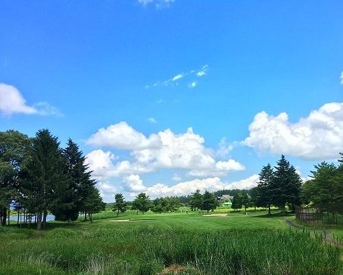 iizuna-nakogen golf curse 2