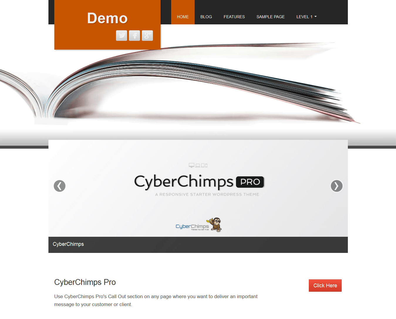 Fine WordPress Theme