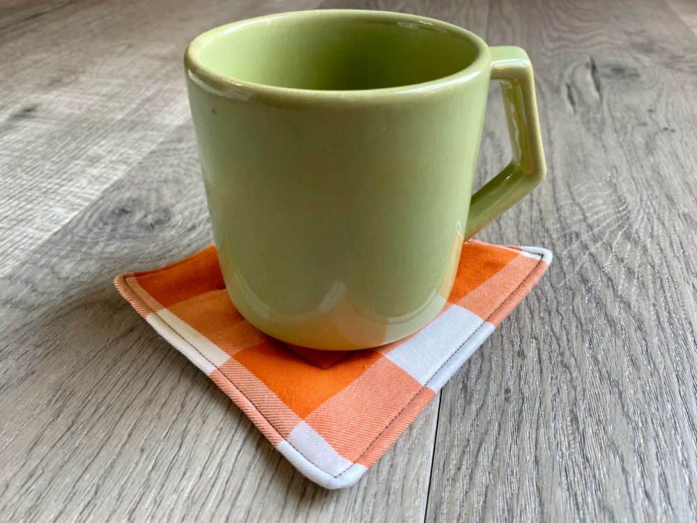 DIY Fabric Coasters - Easy Sewing Tutorial