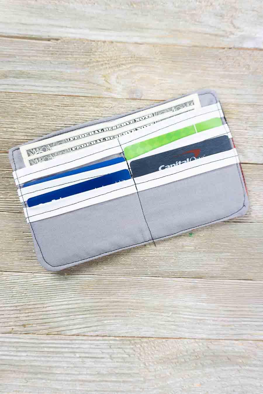 Easy DIY Fabric Wallet Sewing Tutorial