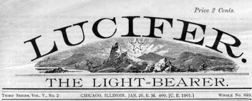 Lucifer Light Bearer Journal | Eugenics Illuminati