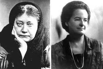 H.P. Blavatsky and Alice Bailey Illuminati New World Order Luciferians.