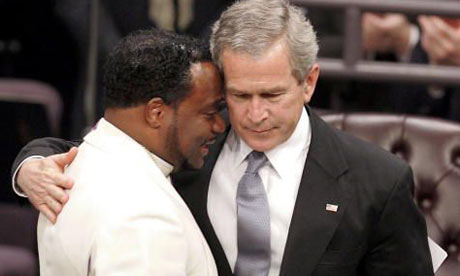 Prosperity Gospel Preacher Eddie Long and George W. Bush | False Prophet Apostasy