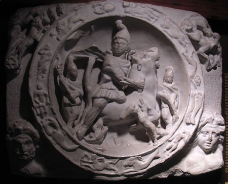 Mithras with stars 12 disciples | Was Jesus Christ a copy of Mithras?