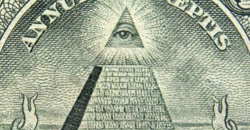 All Seeing Eye One Dollar Bill | Illuminati New World Order