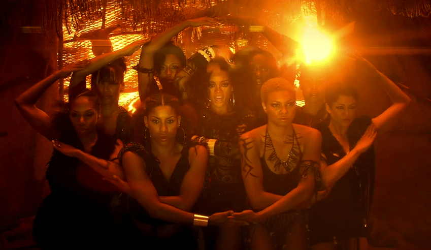 Rihanna S Where Have You Been Video More Illuminati Symbolism Beginning And End