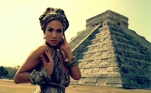 Jennifer Lopez Mayan Temple | Illuminati Satanic Magic