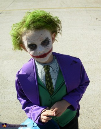 Joker Child Halloween | Dark Knight Shooting Illuminati