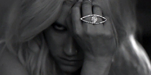 Kesha  All Seeing Eye Ring | Sex with ghost