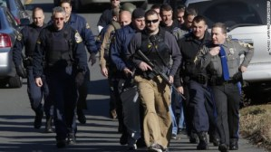 Newtown School Shooting SWAT Team | Why does God allow suffering?