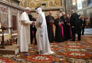The Coming One World Religion – Pope Francis Hosts Muslim Prayers At Vatican