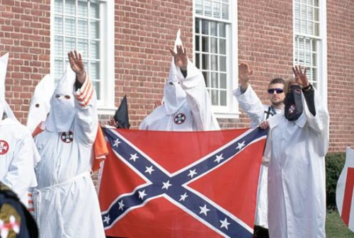 ku klux klan confederate flag racism the bible and racism