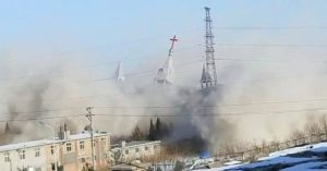 Chinese Government Demolishes Christian Megachurch