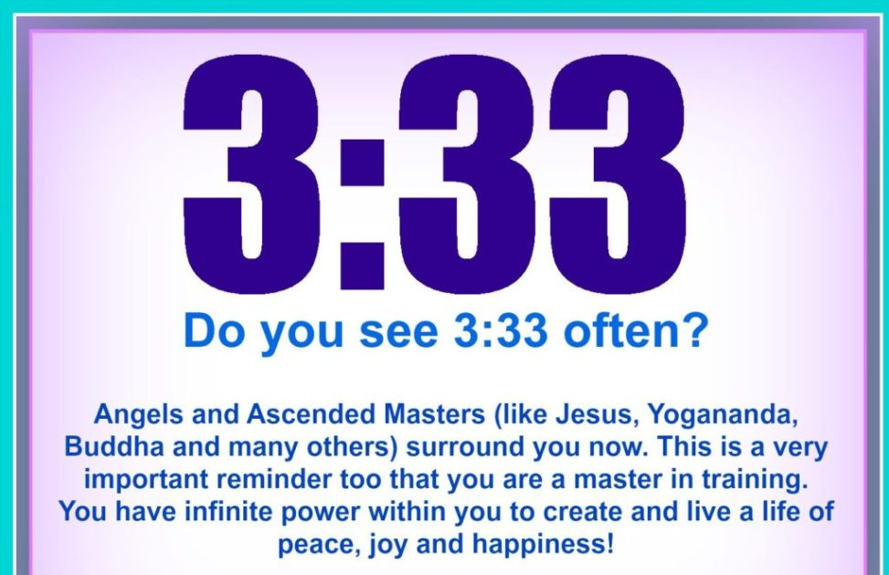 The Secret Meaning Of The Number 33 | Beginning And End