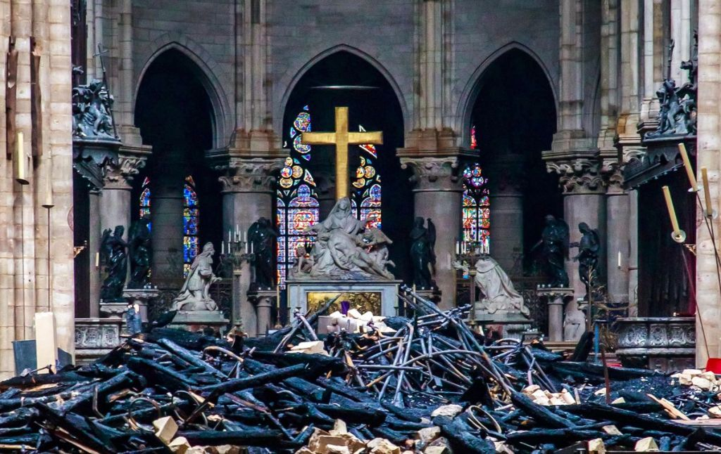 Notre Dame Fire was it arson or terrorism | Cause of fire at Notre Dame
