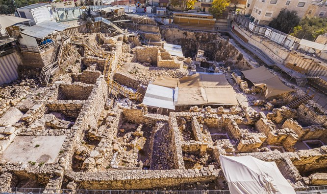 City of David And the temple of solomon | Gohon Spring