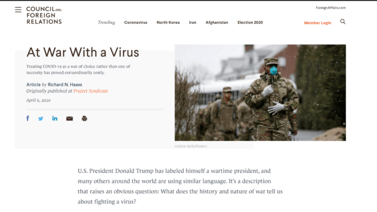 Council On Foreign Relations Bill Gates Globalist Plans for Coronavirus | Wars and rumors of war