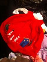Arya's first Christmas dress