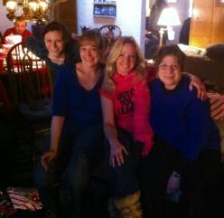 The ladies Christmas 2013