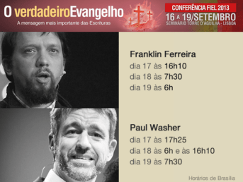 Fiel 2013 conference Paul Washer