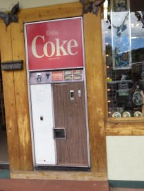 Old School coke machine