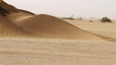 Chalbi Desert - Sand Dunes