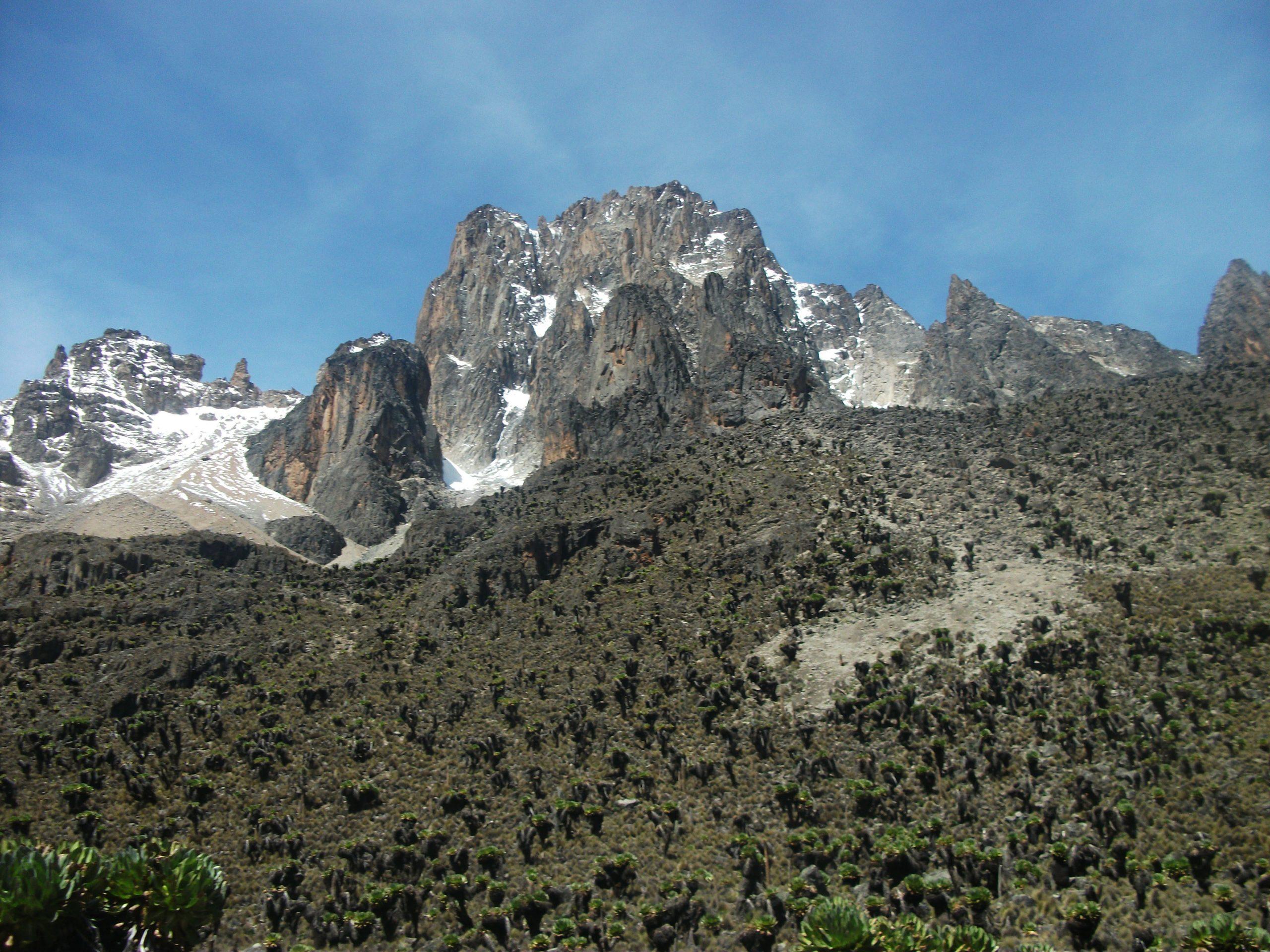 Prepare to Climb Mount Kenya