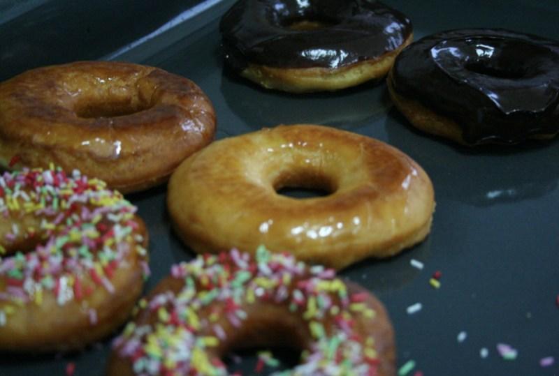 donuts veganos receta