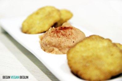 receta de paté de faas vegano