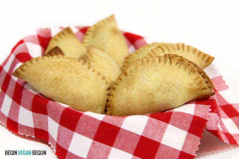 empanadas veganas caseras