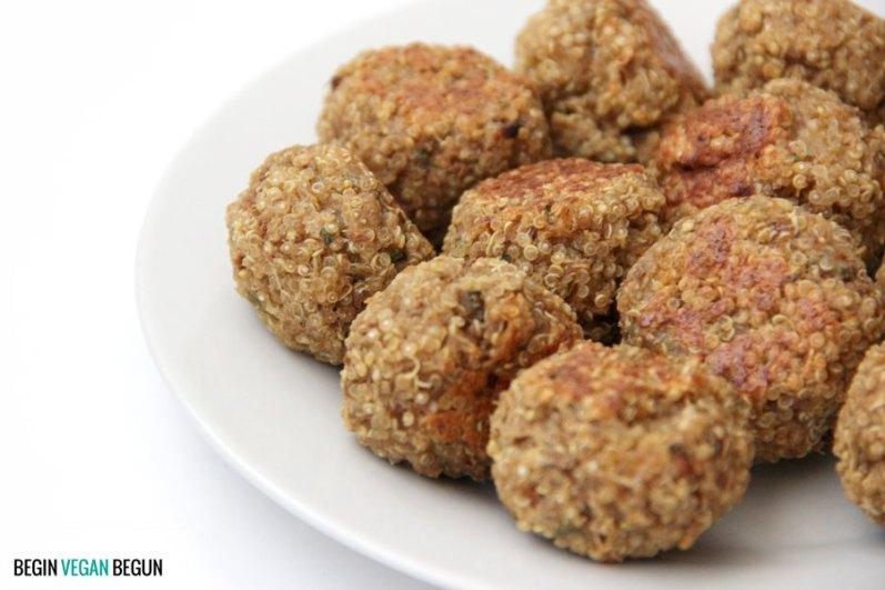 albondigas de quinoa