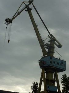 Neptun Werft | Alter Kran | Bild 1