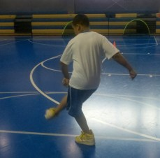 BGCCC SFS Parkside Day 1 - Boy Practicing