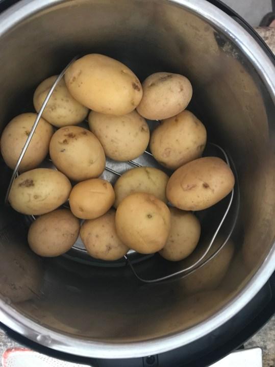 Potatoes Instand Pot basketjpg