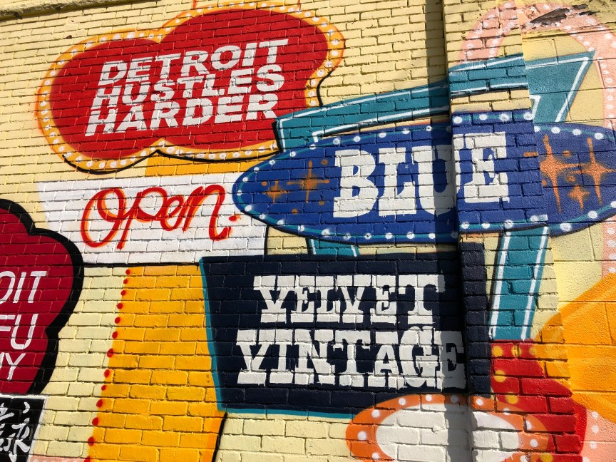 Graffiti at Eastern Market