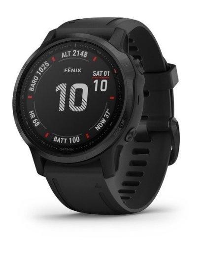 Bėgimo laikrodis Garmin Fenix 6s Pro black