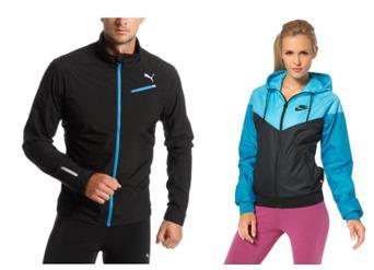 куртка для бега зимой